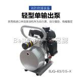販売(BE-MP-63/0.5A)のための軽いWaterjet電気ポンプ単一の作動させたポンプ