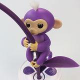 最新の普及したペット対話型の赤ん坊のFingerlings猿のおもちゃ