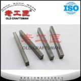 Yg6 filetea la barra usada el corte de piedra del carburo cementado del tungsteno