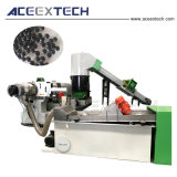 高出力のPE LDPEのフィルムの再ペレタイジングを施す機械