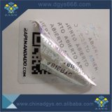 Custom Cheap autocollant Laser hologramme annuler la garantie de l'impression