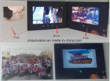"""10.1 """" LCD 영상 브로셔 인사장에 건전지 1.8건축하 에서 """""""