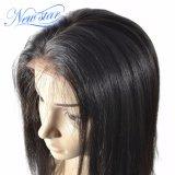 熱い販売のインドの人間の毛髪まっすぐに130%の密度の完全なレースのかつら