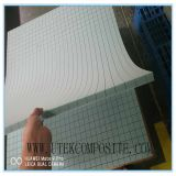 faisceau de PVC de la densité 80kg rainant et perforé pour la construction de bateau