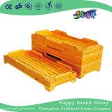 Детям простых из естественной древесины школы кровать для продажи (HG-6404)