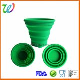 FDA Portable Silicone Collapsible Cup Mug