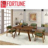 特別なデザイン販売(FOH-BCA61)のための現代黒いレストランの家具セット