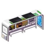 Для использования вне помещений солнечной энергии рекламы освещения в салоне автобусной остановки жилья