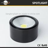 Proyector superficial aprobado Downlight 5W del techo LED de la MAZORCA de Ce/CB