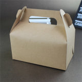 De Amazon do papel de embalagem do PVC do indicador caixa 2018 de bolo de venda quente