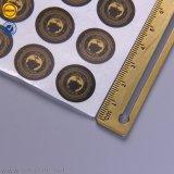 광택 있는 자동 접착 스티커를 인쇄하는 서류상 레이블
