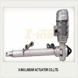 100kgf motor do atuador linear elétrico do atuador linear accionador do cilindro hidráulico