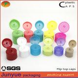 プラスチックびんのふたのための20/410の装飾的なディスク上の帽子