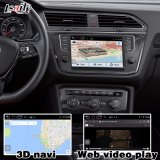 Cuadro de navegación GPS Android para Volkswagen Tiguan Mqb Video Interface