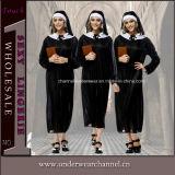 Горячее продавая сексуальное женское бельё плюс Costume монашки размера взрослый