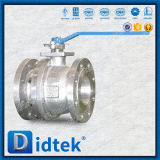 Didtek che chiude la leva a chiave dell'unità fa funzionare la valvola a sfera di galleggiamento