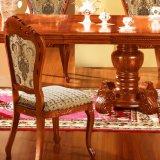 Extensible de table à manger avec chaise de salle à manger pour meubles de salle à manger (868)