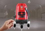 2V1h 3 линии уровень лазера красного цвета земли роторный
