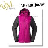 Custom женщин ТЕБЯ ОТ ВЕТРА сшивки открытый куртку зимой слой