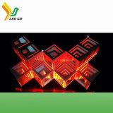 Indicador Especial-Shaped ao ar livre psto solar do quadro de avisos do diodo emissor de luz