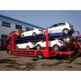 camion dell'elemento portante di automobile del trasporto di 4X2 5cars
