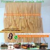 De vuurvaste Synthetische Palm met stro bedekt Viro met stro bedekt om Riet Afrikaan met stro bedekt Hut de Aangepaste Vierkante Afrikaanse Hut Afrika 97 met stro bedekt