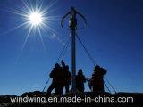 système léger de Turbinefor du vent 600W vertical sur la montagne