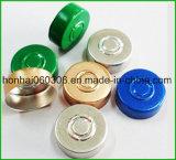 20mm silberne Farben-Aluminiumschutzkappen-Dichtung für Einspritzung-Flasche