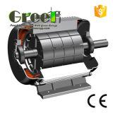100kw 600rpm RPM basso alternatore senza spazzola di CA di 3 fasi, generatore a magnete permanente, dinamo di alta efficienza, Aerogenerator magnetico