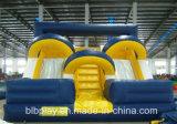 Надувные двойной путь слайд для использования вне помещений или для использования внутри помещений парк