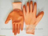 Les nitriles ont enduit les gants protecteurs de travail de travail de sécurité du travail