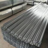 Todo o material de aço duro Chapa de Aço Galvanizado de papelão ondulado para coberturas