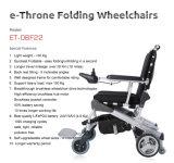 ¡E-Trono! Nuevo plegamiento innovador del diseño/Ce/sin cepillo plegable del sillón de ruedas eléctrico aprobado por la FDA, mejor en el mundo