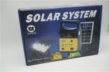2018 FM Radio9 (SDM-3790)の新しい小型携帯用太陽ホームシステムキットのSolar Energyライト