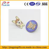 Kundenspezifisches Qualitäts-netter Hundetierdecklackpin-Abzeichen