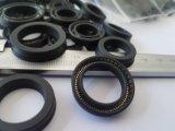 カスタムサイズのテフロンオイルシール、PTFEオイルシール、テフロンカーボンオイルシール、PTFEカーボンオイルシールの挿入SS304 Vばね