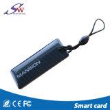 Douane Passieve 125kHz Em4100 RFID EpoxyKeychain voor Toegangsbeheer