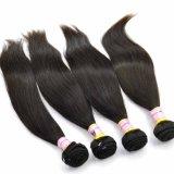 Extensões indianas do cabelo humano do Virgin reto de seda da classe de qualidade superior 9A 100%