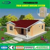 Heller Stahlkonstruktion-Schaumgummi-Kleber-Fertighaus mit einem Schlafzimmer