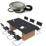 Table à café Qi Chargeur intégré chargeur de batterie Sans fil