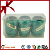 5mm * 10m Metallic Ribbon Eggs for Christmas