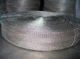 Acoplamiento de alambre hecho punto del acero inoxidable para la filtración gaseosa líquida