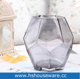 Vaas van het Glas van de kleur de Mond Geblazen