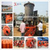 China Baggermachine van de Pomp van het Zand van de Rivier van 10 Duim de Hydraulische