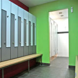 3 puertas taquillas impermeables para Changing Room