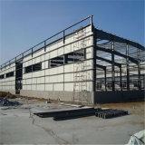 Mordern ISO 증명서를 가진 가벼운 강철 구조물 작업장
