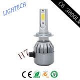車の照明3800lm C6球根LEDのドライビング・ライト