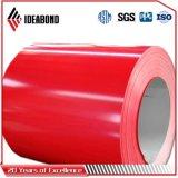 Il materiale decorativo PVDF ha ricoperto prima la bobina di alluminio con il prezzo competitivo
