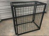 Réservoir de gaz de la cage de casier de vérins à gaz avec des roues