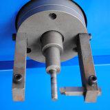 Certificado do Ce, máquina de friso da mangueira hidráulica com função raspando da mangueira